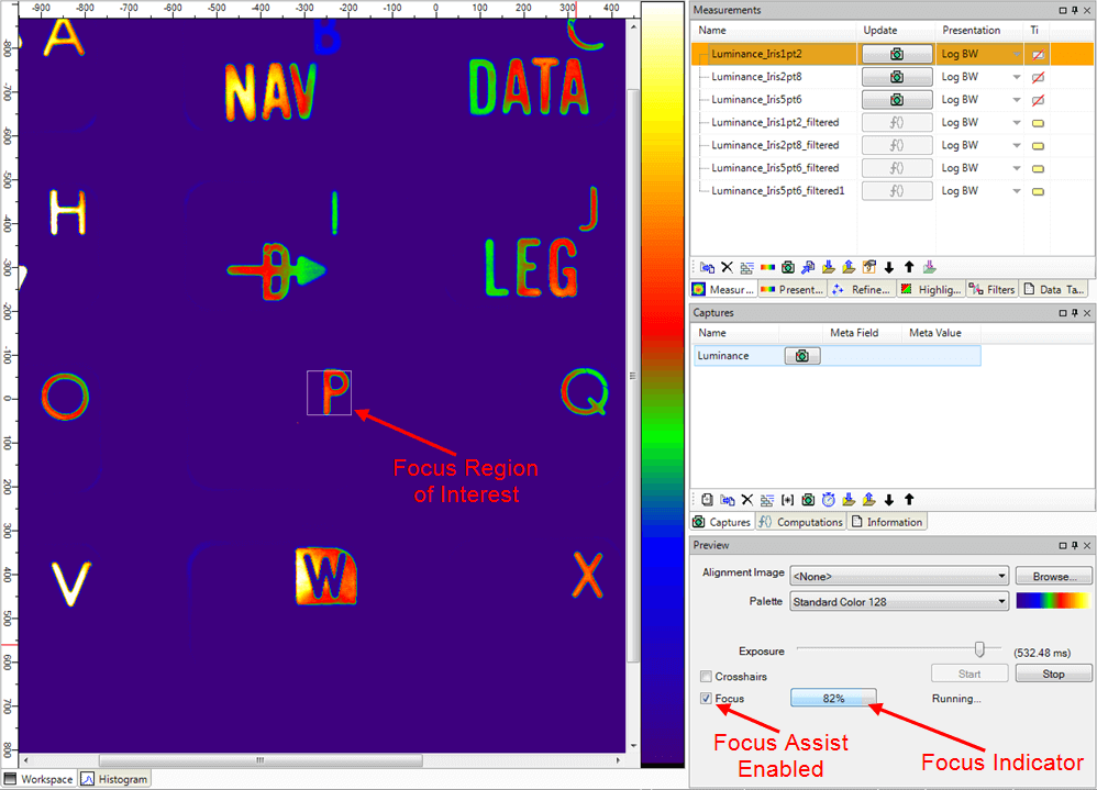 Westboro社製2次元輝度計を用いた測定のセットアップ方法06